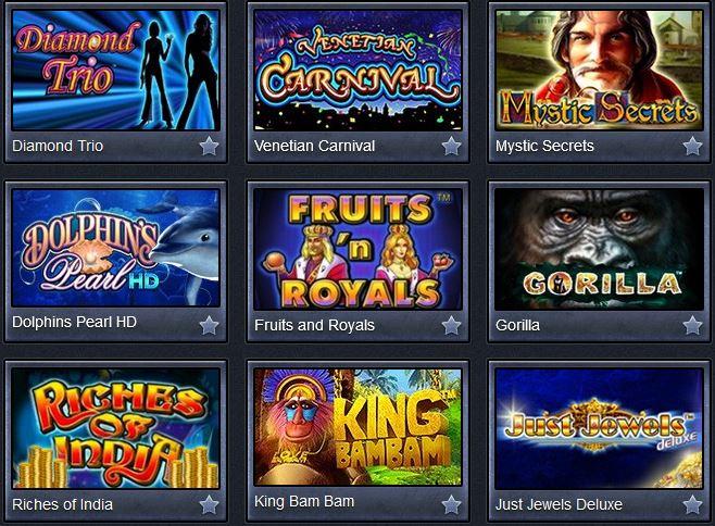 онлайн слоты казино Адмирал